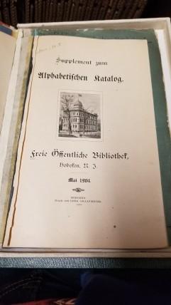 Catalogue German
